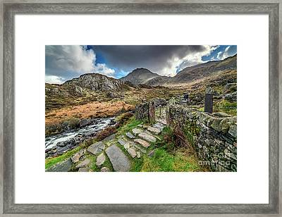 Gate To Snowdonia Framed Print