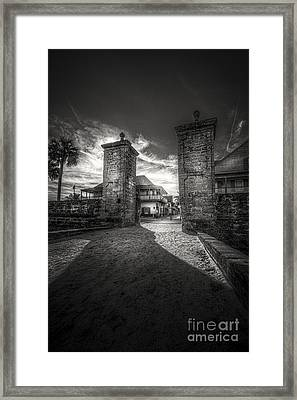 Gate To The City Framed Print