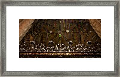 Gate To The Holy Spirit Chapel Framed Print