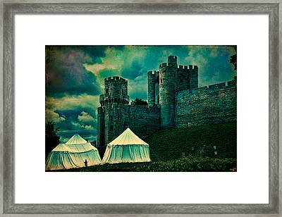 Gate Tower At Warwick Castle Framed Print by Chris Lord