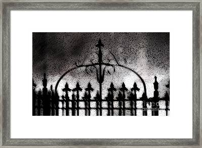 Gated Framed Print