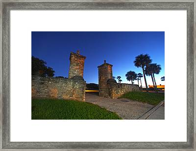 Gates Of The City Framed Print