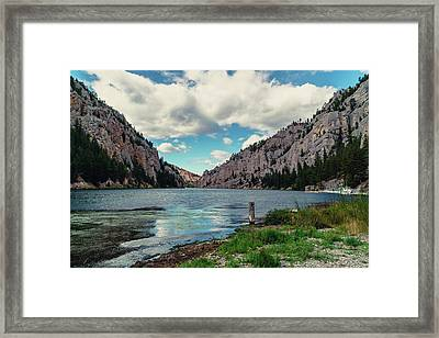 Gates Of The Mountains Framed Print