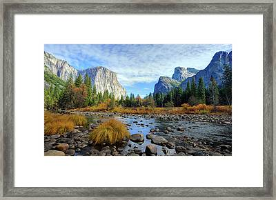 Gates Of The Valley Framed Print