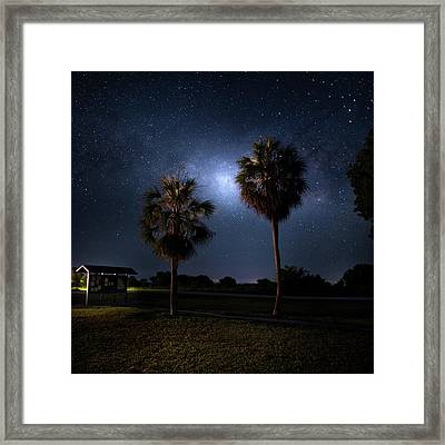 Gates To The Galaxy Framed Print