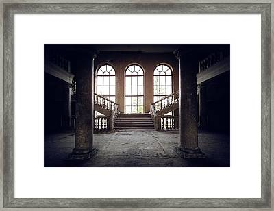 Gates To The Light Framed Print