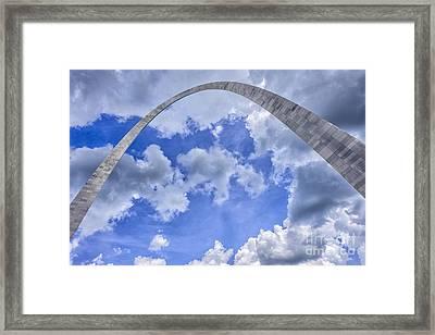 Gateway Arch Framed Print by Thomas R Fletcher