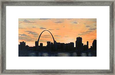 Gateway Home Framed Print