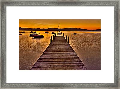 Gateway Framed Print by Scott Mahon
