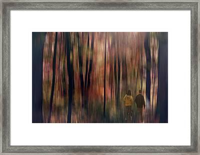 Gateway To A Dream Framed Print