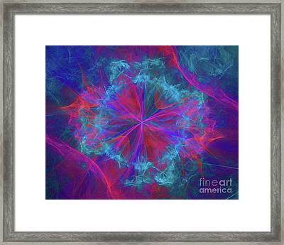 Gateway To Another Dimension Framed Print