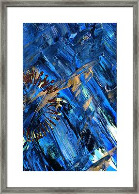 Gateway To Chaos 2 Framed Print by Lori Kingston