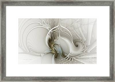 Gateway To Heaven-fractal Art Framed Print