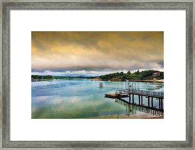Gateway To The Cape Framed Print by Gina Cormier