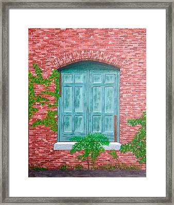 Gateway To The Past Framed Print