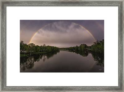 Gateway To Tomorrow Framed Print by Everet Regal