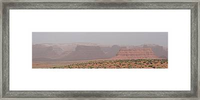 Gateway To Valley Of The Gods Framed Print by Gregory Jeffries