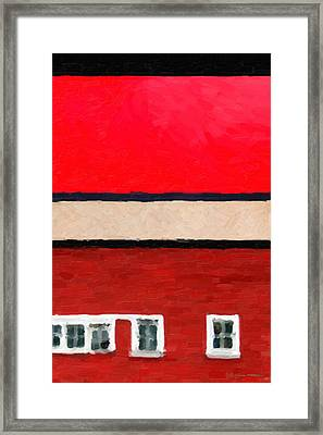 Framed Print featuring the digital art Gateways And Portals No. 2 by Serge Averbukh