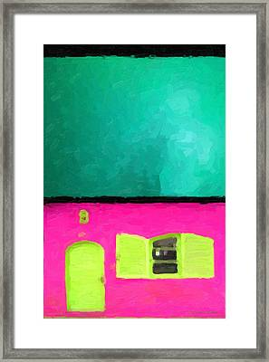 Framed Print featuring the digital art Gateways And Portals No. 4 by Serge Averbukh