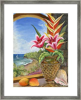 Gathered Beauty Framed Print by Trister Hosang