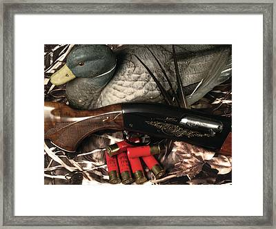 Gathered Gear Framed Print by Brenon Hensley
