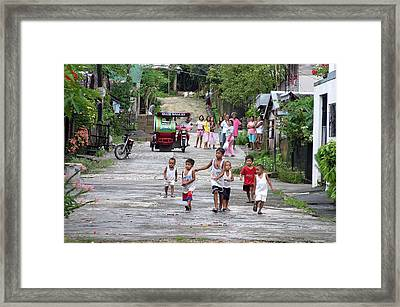 Gathering 2 Framed Print