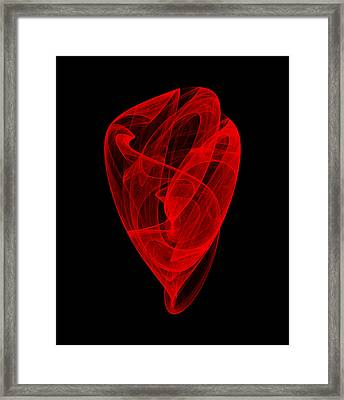 Gathering Bends II Framed Print