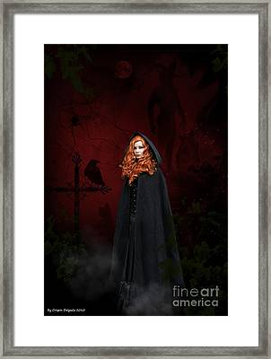Gathering Framed Print by Crispin  Delgado