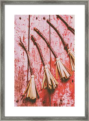 Gathering Of Evil Witches Still Life Framed Print by Jorgo Photography - Wall Art Gallery