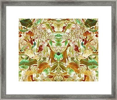 Gathering Of Mind Framed Print