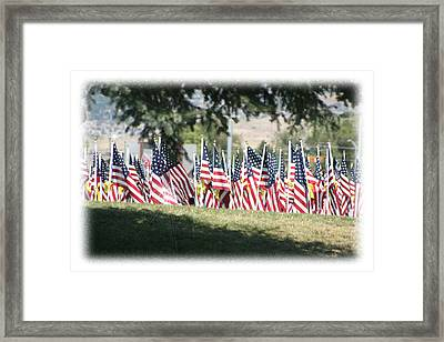 Gathering Of The Guard - 2009 Framed Print