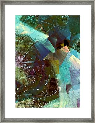 Gathering Of The Squares 2 Framed Print by Kume Bryant