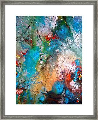 Gathering Framed Print by Pearlie Taylor