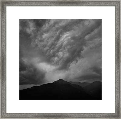 Gathering Storm Framed Print by James Clancy