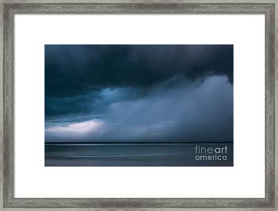 Gathering Storm Framed Print by John Greim