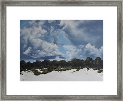 Gathering Storm Framed Print by Mary Taglieri