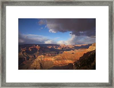 Gathering Storm Framed Print by Mike Buchheit