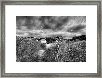Gathering Storm Old Hunstanton Norfolk Framed Print by John Edwards