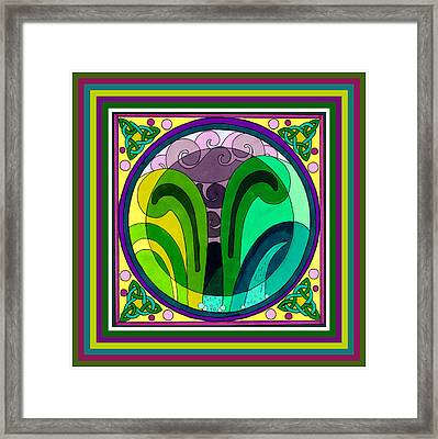 Gathering Storm Framed Print by Phyllis Berka