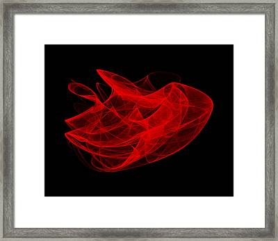 Gathering Wave I Framed Print