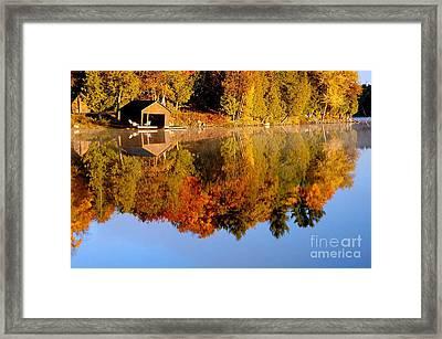 Gatineau Park Taylor Lake Framed Print