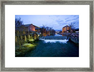 Gatlinburg Mill Framed Print by Paul Bartoszek