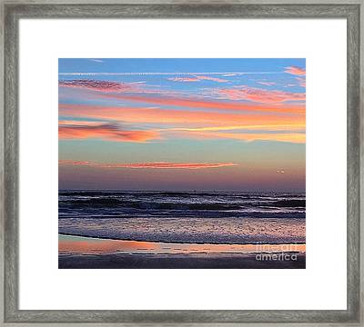 Gator Sunrise 10.31.15 Framed Print