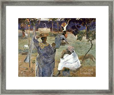 Gauguin: Martinique, 1887 Framed Print by Granger