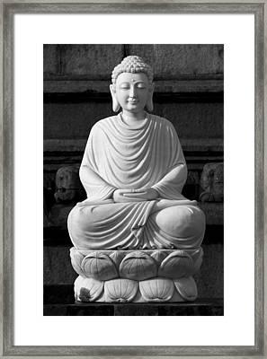 Gautam Buddha Framed Print
