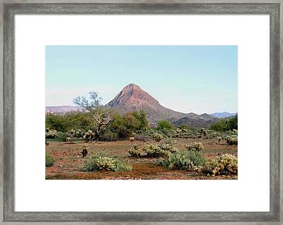 Gavilan Peak, Arizona Framed Print by Gordon Beck