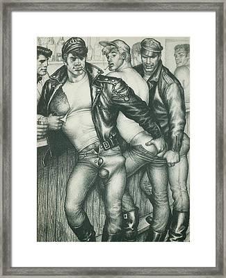 Gay Bar Framed Print