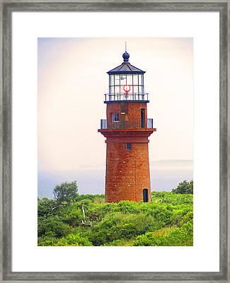 Gay Head Lighthouse Framed Print by Mark Sellers