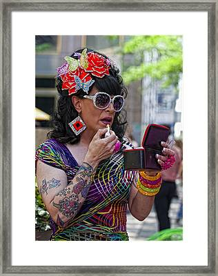 Gay Pride 2010 4 Framed Print