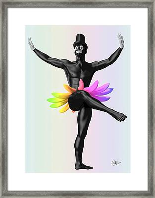 Gay Pride Parade Framed Print by Quim Abella